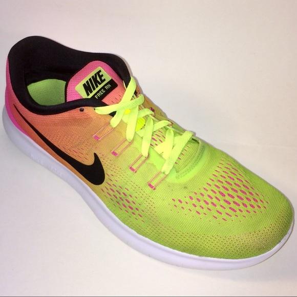 buy online 882f2 663e0 Nike Free RN 2 OC Mesh Running Shoe 844629-999 8.5
